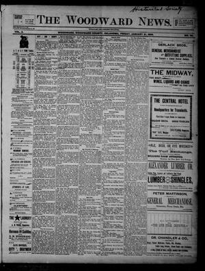 Primary view of object titled 'The Woodward News. (Woodward, Okla.), Vol. 2, No. 36, Ed. 1 Friday, January 31, 1896'.