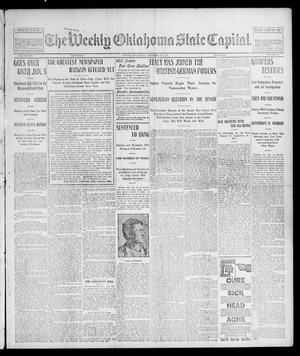 Primary view of object titled 'The Weekly Oklahoma State Capital. (Guthrie, Okla.), Vol. 14, No. 38, Ed. 1 Saturday, December 20, 1902'.