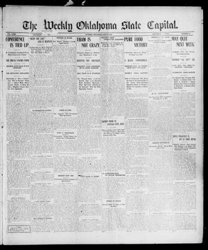 Primary view of object titled 'The Weekly Oklahoma State Capital. (Guthrie, Okla.), Vol. 18, No. 10, Ed. 1 Saturday, June 30, 1906'.