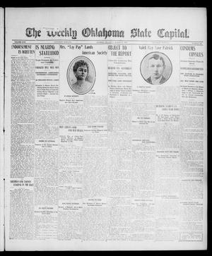 Primary view of object titled 'The Weekly Oklahoma State Capital. (Guthrie, Okla.), Vol. 17, No. 51, Ed. 1 Saturday, March 31, 1906'.