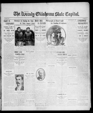 Primary view of object titled 'The Weekly Oklahoma State Capital. (Guthrie, Okla.), Vol. 17, No. 45, Ed. 1 Saturday, February 10, 1906'.