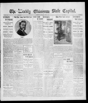 Primary view of object titled 'The Weekly Oklahoma State Capital. (Guthrie, Okla.), Vol. 17, No. 24, Ed. 1 Saturday, September 9, 1905'.