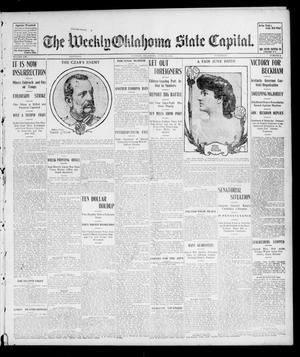 Primary view of object titled 'The Weekly Oklahoma State Capital. (Guthrie, Okla.), Vol. 16, No. 8, Ed. 1 Saturday, June 11, 1904'.