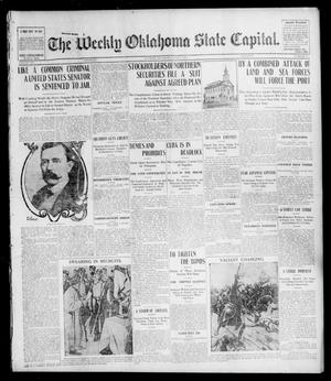 Primary view of object titled 'The Weekly Oklahoma State Capital. (Guthrie, Okla.), Vol. 15, No. 51, Ed. 1 Saturday, April 9, 1904'.