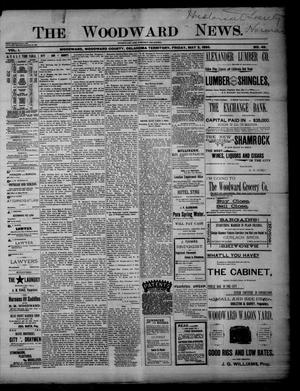 Primary view of object titled 'The Woodward News. (Woodward, Okla. Terr.), Vol. 1, No. 49, Ed. 1 Friday, May 3, 1895'.