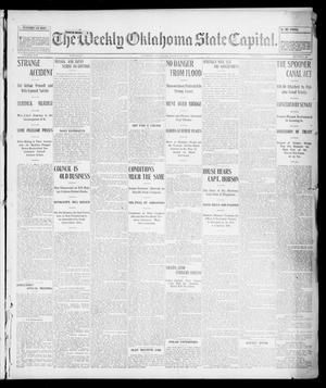 Primary view of object titled 'The Weekly Oklahoma State Capital. (Guthrie, Okla.), Vol. 14, No. 50, Ed. 1 Saturday, March 14, 1903'.