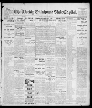 Primary view of object titled 'The Weekly Oklahoma State Capital. (Guthrie, Okla.), Vol. 14, No. 44, Ed. 1 Saturday, January 31, 1903'.