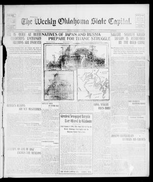 Primary view of object titled 'The Weekly Oklahoma State Capital. (Guthrie, Okla.), Vol. 15, No. 28, Ed. 1 Saturday, October 31, 1903'.