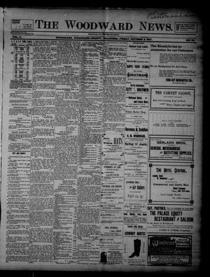 Primary view of object titled 'The Woodward News. (Woodward, Okla.), Vol. 4, No. 20, Ed. 1 Friday, October 8, 1897'.