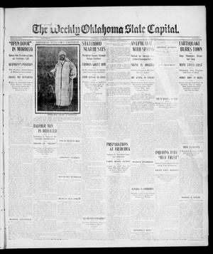 Primary view of object titled 'The Weekly Oklahoma State Capital. (Guthrie, Okla.), Vol. 17, No. 2, Ed. 1 Saturday, April 8, 1905'.