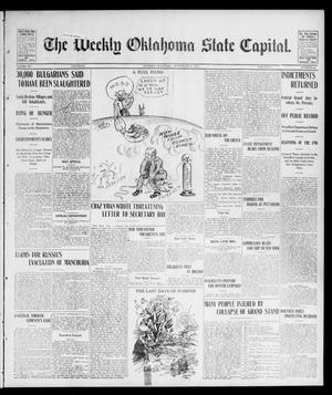 Primary view of object titled 'The Weekly Oklahoma State Capital. (Guthrie, Okla.), Vol. 15, No. 22, Ed. 1 Saturday, September 12, 1903'.