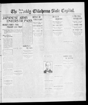 Primary view of object titled 'The Weekly Oklahoma State Capital. (Guthrie, Okla.), Vol. 16, No. 51, Ed. 1 Saturday, March 18, 1905'.