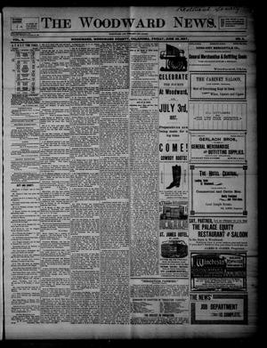 Primary view of object titled 'The Woodward News. (Woodward, Okla.), Vol. 4, No. 5, Ed. 1 Friday, June 25, 1897'.
