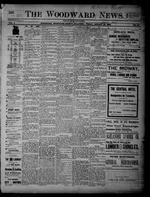 Primary view of object titled 'The Woodward News. (Woodward, Okla.), Vol. 2, No. 35, Ed. 1 Friday, January 24, 1896'.