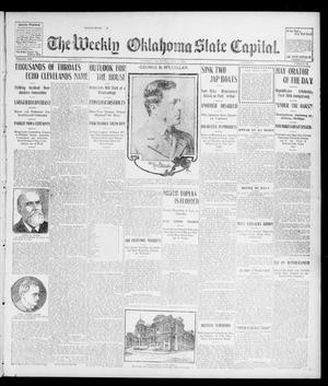Primary view of object titled 'The Weekly Oklahoma State Capital. (Guthrie, Okla.), Vol. 16, No. 11, Ed. 1 Saturday, July 9, 1904'.
