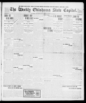 Primary view of object titled 'The Weekly Oklahoma State Capital. (Guthrie, Okla.), Vol. 10, No. 255, Ed. 1 Wednesday, September 21, 1898'.