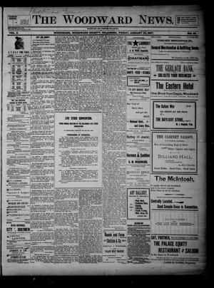 Primary view of The Woodward News. (Woodward, Okla.), Vol. 3, No. 35, Ed. 1 Friday, January 22, 1897
