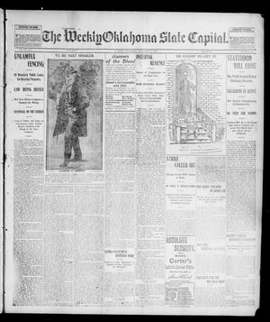 Primary view of object titled 'The Weekly Oklahoma State Capital. (Guthrie, Okla.), Vol. 14, No. 35, Ed. 1 Saturday, November 29, 1902'.