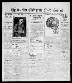 Primary view of object titled 'The Weekly Oklahoma State Capital. (Guthrie, Okla.), Vol. 17, No. 32, Ed. 1 Saturday, November 4, 1905'.