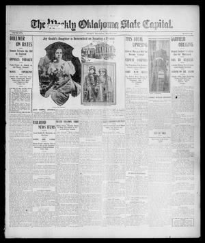 Primary view of object titled 'The Weekly Oklahoma State Capital. (Guthrie, Okla.), Vol. 17, No. 46, Ed. 1 Thursday, March 1, 1906'.