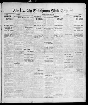 Primary view of object titled 'The Weekly Oklahoma State Capital. (Guthrie, Okla.), Vol. 18, No. 9, Ed. 1 Saturday, June 23, 1906'.