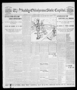Primary view of object titled 'The Weekly Oklahoma State Capital. (Guthrie, Okla.), Vol. 15, No. 8, Ed. 1 Saturday, June 6, 1903'.