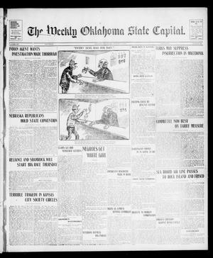 Primary view of object titled 'The Weekly Oklahoma State Capital. (Guthrie, Okla.), Vol. 15, No. 19, Ed. 1 Saturday, August 22, 1903'.