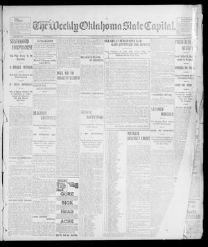 Primary view of object titled 'The Weekly Oklahoma State Capital. (Guthrie, Okla.), Vol. 14, No. 46, Ed. 1 Saturday, February 14, 1903'.