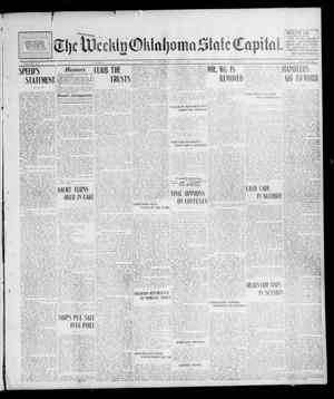 Primary view of object titled 'The Weekly Oklahoma State Capital. (Guthrie, Okla.), Vol. 14, No. 74, Ed. 1 Saturday, July 19, 1902'.
