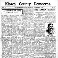 Kiowa and Swanson County Democrat