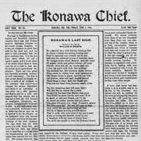 The Konawa Chief-Leader