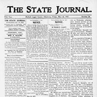 The State Journal (Mulhall, Oklahoma)